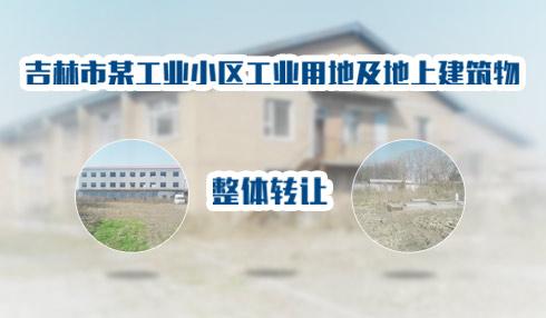 吉林市某工业小区工业用地及地上建筑物整体转让